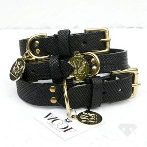 Woof NY Leather Dog Collar