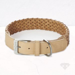 MiaCara Leather Dog Collar