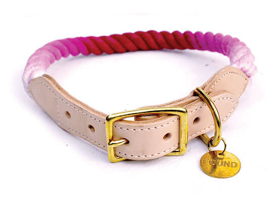 Found My Animal Marine Rope Dog Collar