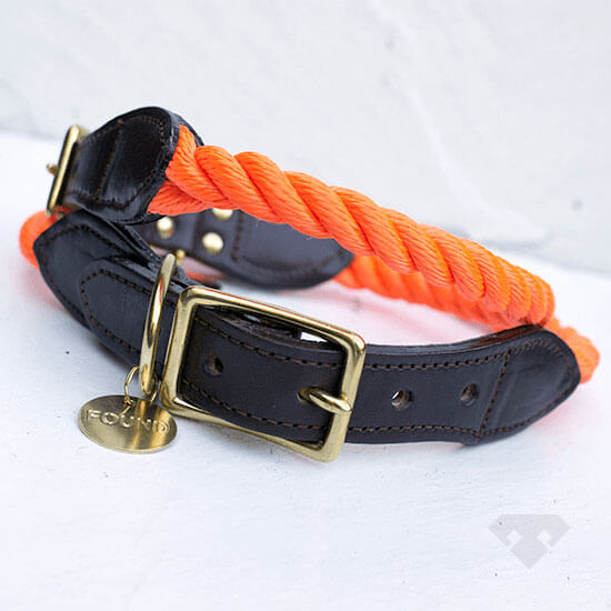 Found My Animal Marine Rope Dog Collar