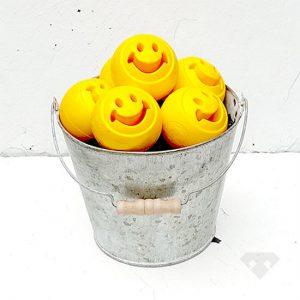 Smiler Tough Rubber Dog Toy